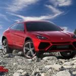 Lamborghini Urus concept 2012 800x600