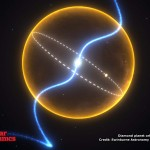 Diamond planet orbits a pulsar 800x600
