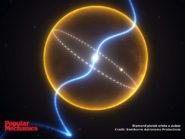 Diamond planet orbits a pulsar 800x600