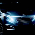 Peugeot's Urban Crossover Concept 2012