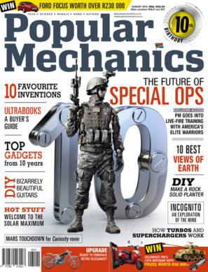 Popular Mechanics August 2012