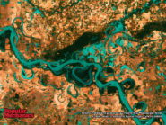 Meandering Mississippi River 800x600
