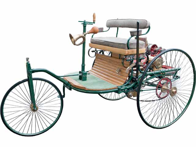 Who invented first car?