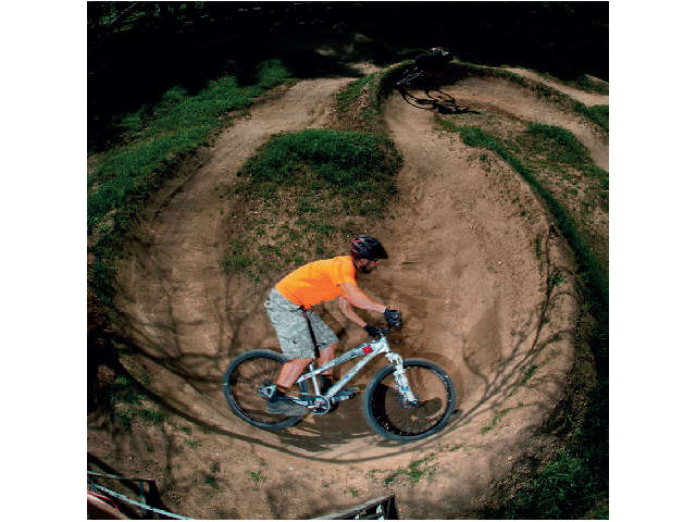 Bikercross meets backyard in this cool DIY track – all you need are ...
