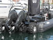 Sealegs amphibious craft Cape Town Boat Show