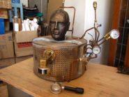 James Clayton's espresso machine