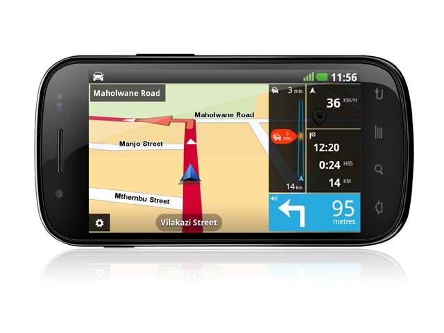 Activate map tomtom android
