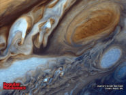 Jupiter's Great Red Spot 800x600