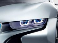 BMW laser headlamps