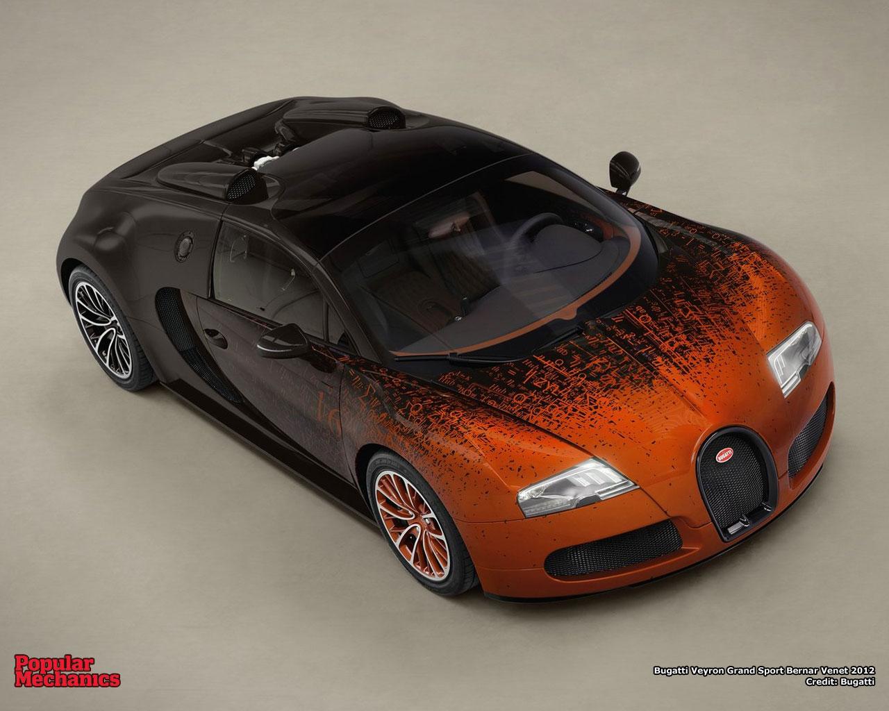 bugatti veyron grand sport bernar venet 2012 popular mechanics. Black Bedroom Furniture Sets. Home Design Ideas