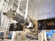 IRIS fully integrated spacecraft and science instrument