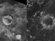 titan craters before and after