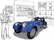 Jay Leno Bugatti Type 57SC