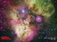 Stellar cluster NGC 2467 800x600