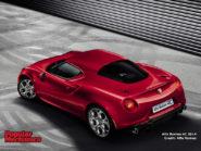 Alfa Romeo 4C 2014 800x600