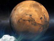 Comet-2013-A1-Mars