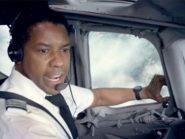Denzel Washington in the film Flight
