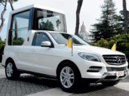 Mercedes-Benz ML Popemobile