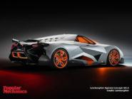 Lamborghini Egoista Concept 2013 800x600
