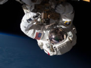 Expedition 35 Flight Engineers repair ISS