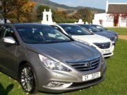 Hyundai Sonata 2,4 GDI Elite launched in Paarl this week.
