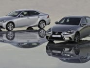Lexus IS350 - different models
