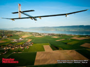 Solar Impulse flies over Switzerland in 2011 800x600