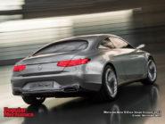 Mercedes-Benz S-Class Coupè Concept 2013 800x600