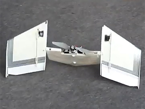 how to make a robot that can fly at home