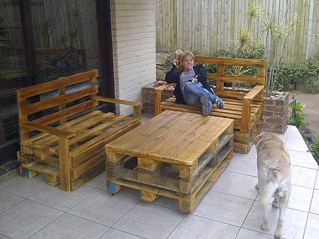 reader project make your own outdoor pallet furniture