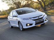 Honda Ballade - front