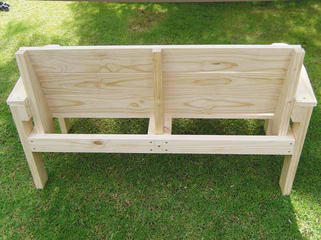 Foyer Bench Popular Mechanics : Build a garden bench popular mechanics