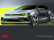 Volkswagen Golf R 400 Concept 2014 800x600