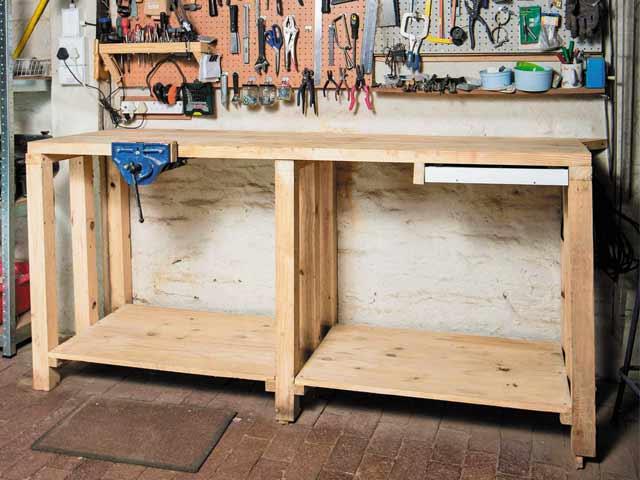 Build a workbench - Popular Mechanics