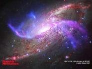 NGC 4258 spiral galaxy 800x600