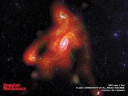 Spiral galaxy M81 800x600