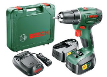 Bosch PSR 1800 LI-2 drill driver