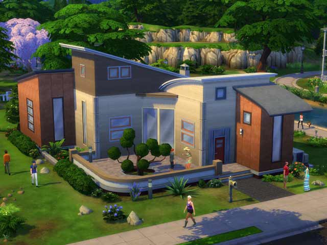The Sims 4 House Design Interior Dance drummingcom