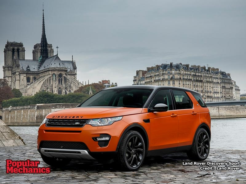 Land Rover Discovery Sport wallpaper