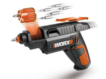 Worx SD cordless screwdrivers (Oct '14 online competition)