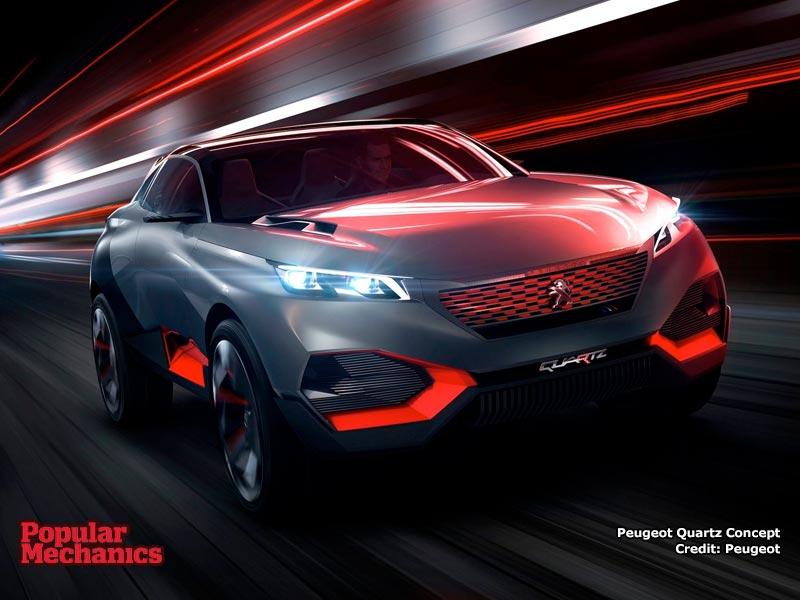 Peugeot Quartz Concept Wallpaper