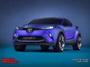 Toyota C-HR Concept Wallpaper