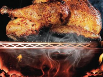 Cook your entire Christmas lunch on the braai