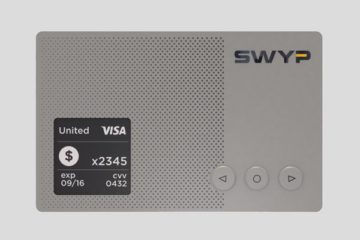 The metal credit card that stores all your other cards on it.