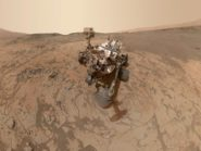Curiosity takes Mars self-portrait