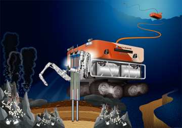 Nissan's Around View Monitor (AVM) technology, a building block of its autonomous drive technology, will help remotely operated vehicles (ROVs) search for natural resources in the Earth's oceans.