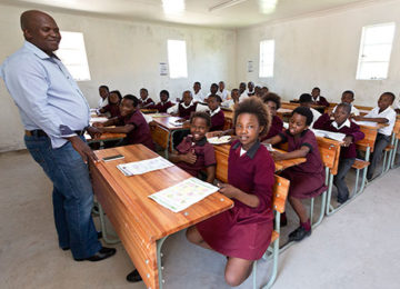 Building classrooms for a better future