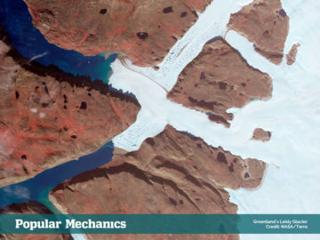 Greenland's Leidy Glacier