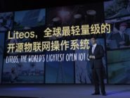 Huawei launches ioT operating system.