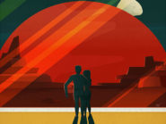 SpaceX's posters invite would-be travelers to Mars